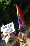 Pride Parade gai, Chypre Images libres de droits