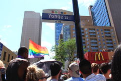 Pride Parade gai E 2013 photos stock