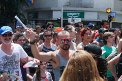 Pride Parade i Tel Aviv 2013 Arkivfoton