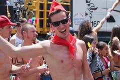Pride Parade i Tel Aviv 2013 Royaltyfri Fotografi