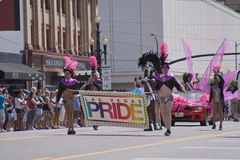 Pride Parade, June 3, 2012.  Salt Lake City, Utah Stock Image