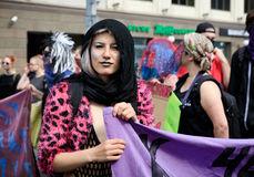 Pride Parade In Kiev Stock Afbeeldingen