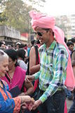 Pride parade in Mumbai Stock Images