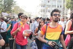 Pride parade in Mumbai Stock Photography