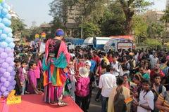 Pride Parade in Mumbai Royalty Free Stock Image