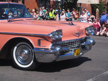 Pride Parade With Pink Cadillac Stock Image