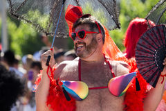 Pride parade in sitges Stock Image