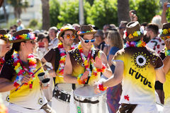 Pride parade in sitges Royalty Free Stock Image
