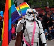 Pride Parade Edmonton 2017 Royalty Free Stock Image