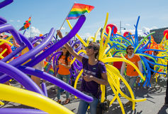Pride parade Stock Photos