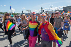 Pride parade Stock Photography