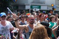 Pride Parade in Tel Aviv 2013 Stock Foto's
