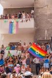 Pride Parade Tel-Aviv alegre 2013 Fotografia de Stock
