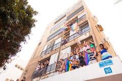 Pride Parade Tel-Aviv alegre 2013 Foto de Stock
