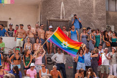 Pride Parade Tel-Aviv gai 2013 Photo libre de droits