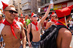Pride Parade Tel-Aviv gai 2013 Photo stock
