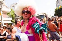 Pride Parade Tel-Aviv gai 2013 Image libre de droits