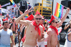 Pride Parade in Tel Aviv 2013 Stock Photo