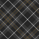 Pride of scotland hunting tartan diagonal seamless pattern Royalty Free Stock Photo