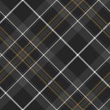 Pride of scotland hunting tartan diagonal seamless pattern Royalty Free Stock Photo
