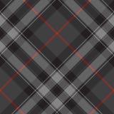 Pride of scotland silver tartan diagonal texture seamless patter Stock Photos