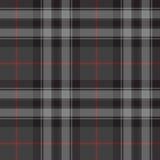 Pride of scotland silver tartan kilt texture seamless pattern Stock Photo