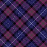 Pride of scotland tartan fabric diagonal texture seamless backgr Stock Photo