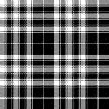 Pride of scotland tartan fabric texture pixel seamless pattern Royalty Free Stock Photography