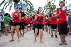 Pride in Sitges, Spain Royalty Free Stock Photography