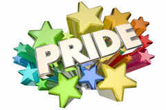 Pride Stars illustration stock
