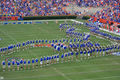 Pride of the Sunshine. UF Marching Band Pride of the Sunshine Stock Photos