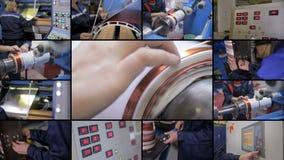 Priduction de alto voltaje del equipo eléctrico 4K almacen de metraje de vídeo
