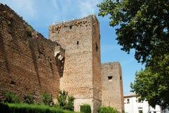 Priego de Κόρδοβα κάστρο Στοκ εικόνα με δικαίωμα ελεύθερης χρήσης