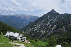 Prielschutzhaus, Totesgebirge, Oberosterreich, Austria royalty free stock photos