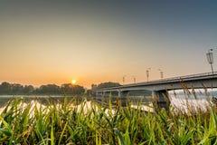 Prienai bro Fotografering för Bildbyråer