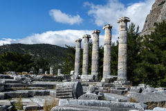 Priene Ancient City Royalty Free Stock Image