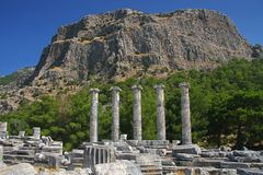 Priene Royalty Free Stock Photos