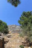 Priene ruins of an ancient antique city Stock Photography