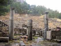 Priene; Turkey; builded by Alexander the Great Royalty Free Stock Images