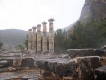 Priene; Turkiet; bygg vid Alexander det stort fotografering för bildbyråer