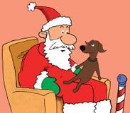 Prier pour des cadeaux de Noël illustration de vecteur