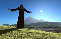 The priest. Royalty Free Stock Images