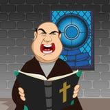 Priest angry Stock Photos
