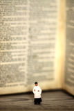 Priest bible book old antique Stock Photo