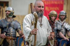 Priest dac shows the ancients costum and rituals Royalty Free Stock Photo