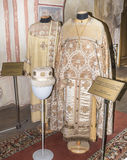 Priest and deacon (Liturgical vestments) in Stock Images