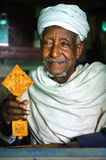 Priest of the Debra Mariam Monastery - Lake Tana, Ethiopia, Sep. Stock Image