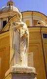 Priest holding cross Royalty Free Stock Photo
