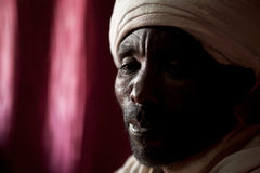 Priest, Lalibela Stock Photo