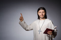 Priest man Royalty Free Stock Images